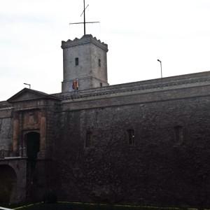 Vista externa - Castelo Montejuic