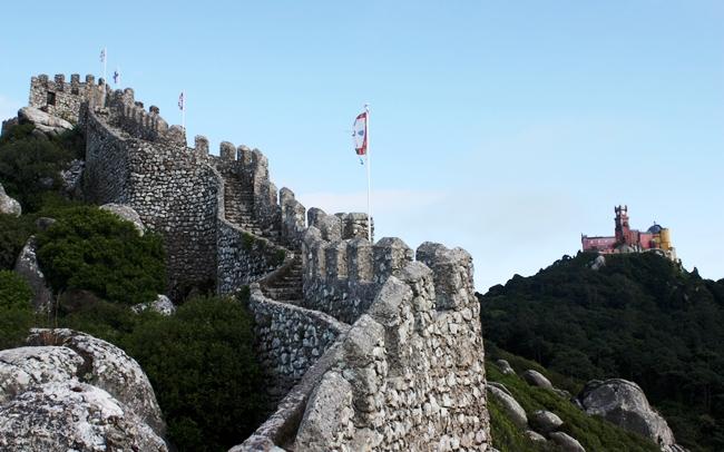 Castelo dos Mouros e Palacio da Pena - Sintra
