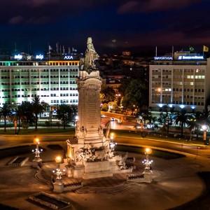 Praça Marques de Pombal - fonte: Wikipedia
